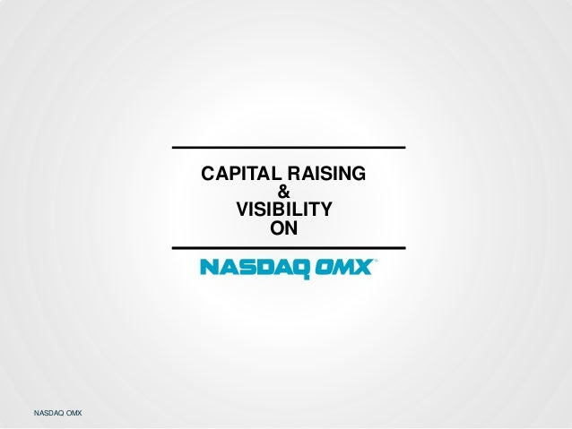 Capital Raising & Visibiliyt On NASDAQ OMX - Erja Retzén, NASDAQ OMX