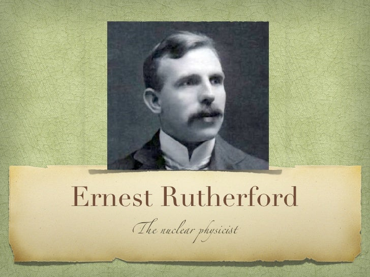Ernest rutherford 2