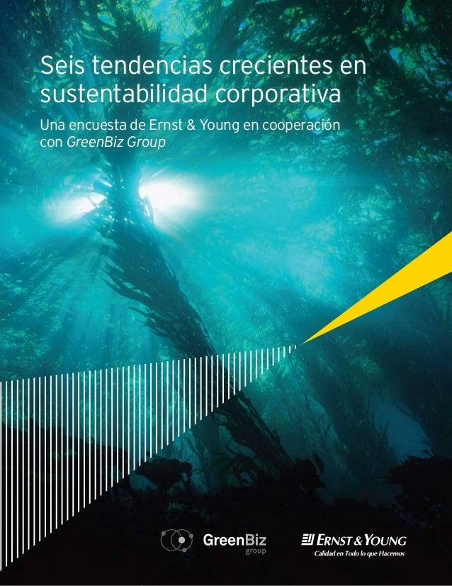 Desde la participación del director de finanzas hasta el compromiso de los empleados: seis tendencias en sustentabilidad c...
