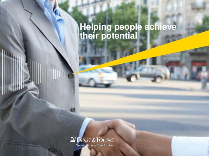 Helping people achieve their potential<br />