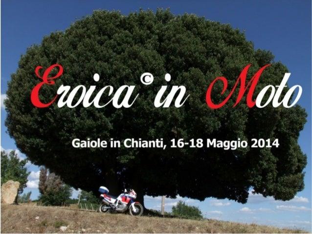 Eroica in moto 2014 Presentazione Moto Days Roma 8 marzo 2014
