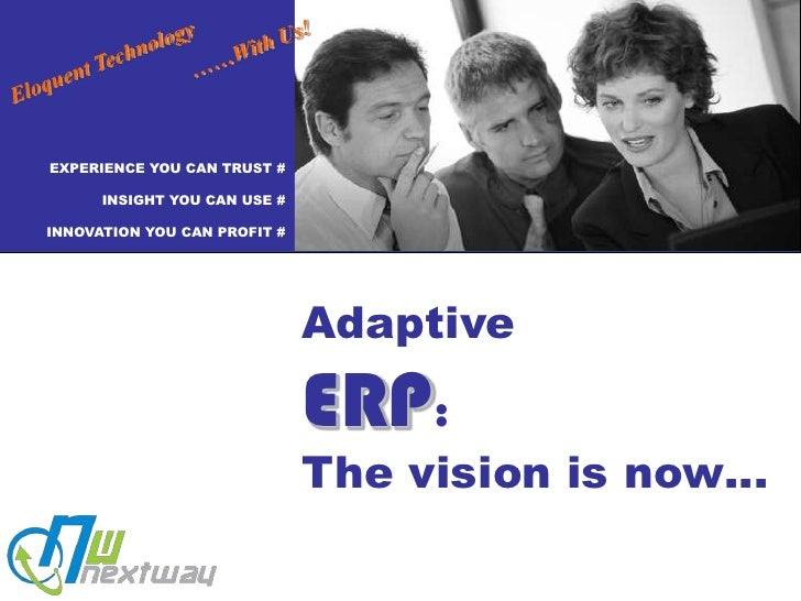 Eloquent Technology<br />……With Us!<br />EXPERIENCE YOU CAN TRUST #<br />INSIGHT YOU CAN USE #<br />INNOVATION YOU CAN PRO...