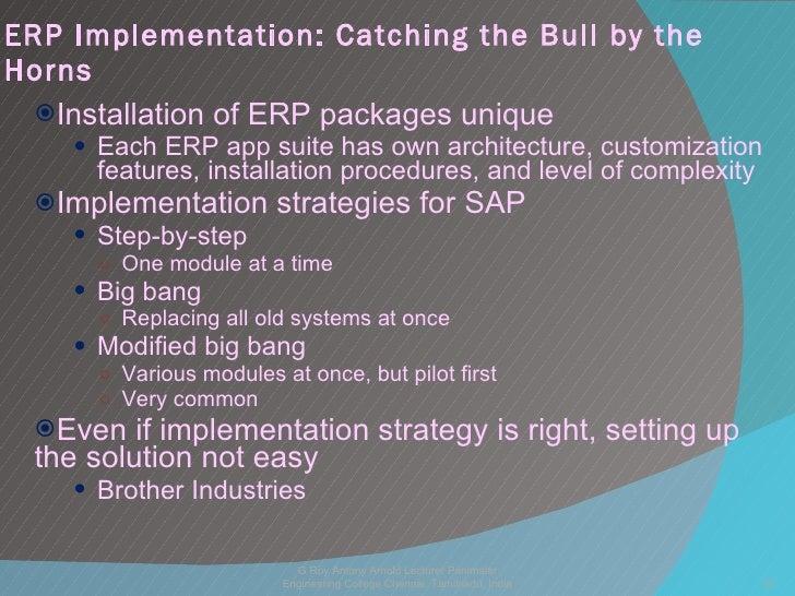 Case Study: NIBCO's Big Bang: An SAP Implementation