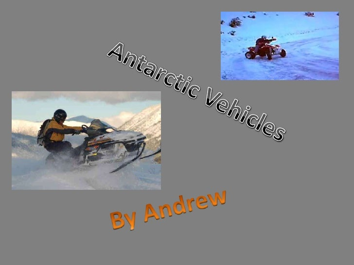 Antarctic vehicles by andy
