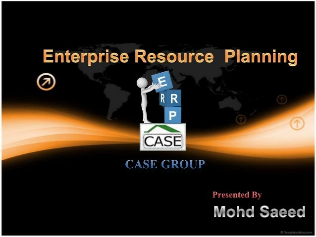 What is ERP…..?• ERP is a process of managing all resources and their  use in the entire enterprise in a coordinated manne...