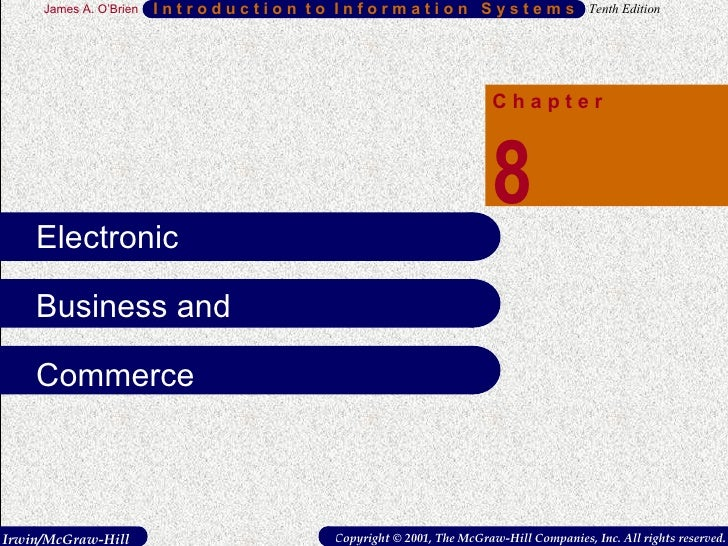 Electronic Business and Commerce