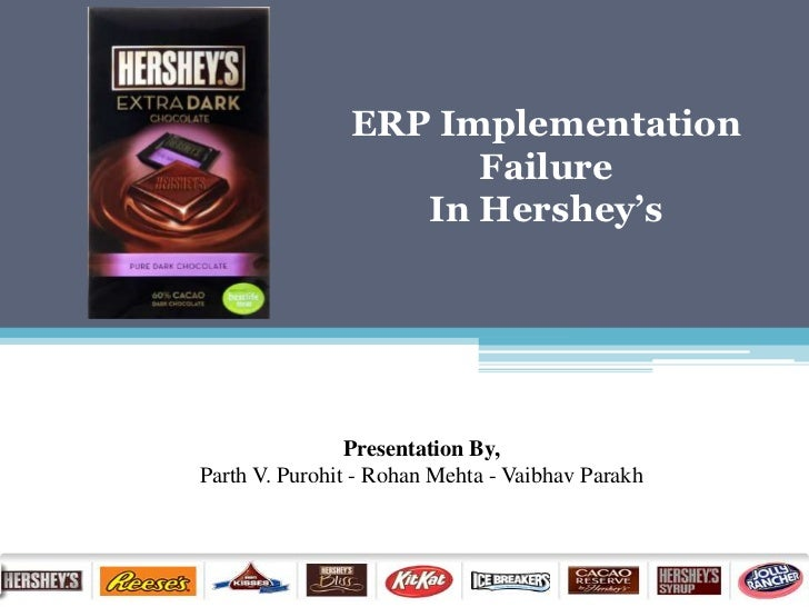 erp implementation failure at hershey foods 15 famous erp disasters, dustups and disappointments (in this case hershey foods) i'm working a case today that involves an erp implementation with a.