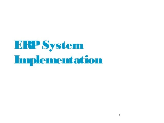 erp implementation case study in india