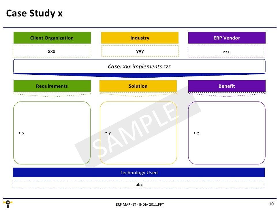 sap erp implementation case studies Comparative study of erp implementation methodology case study: accelerated sap vs dantes & hasibuan methodology m hilman, f setiadi, i sarika, j budiasto, and r alfian.