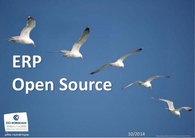 ERP Open Source  https://www.flickr.com/photos/dsevilla/112179223/  10/2014