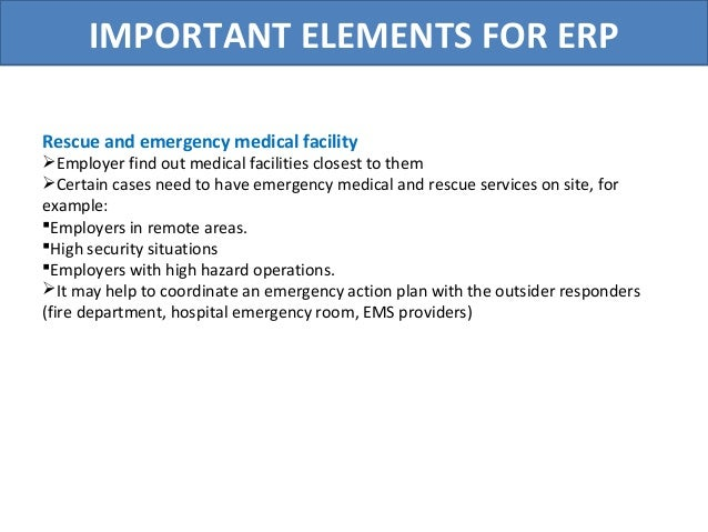 Business Continuity And Disaster Recovery Emergency Response Plan