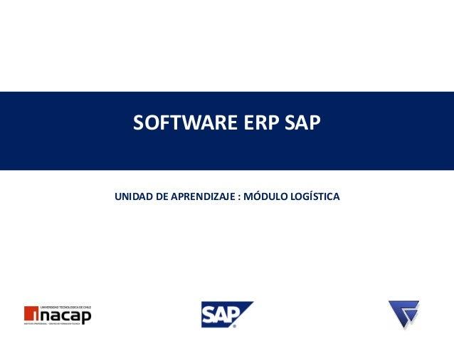 ERP SAP Aprendizaje Modulo Logistica parte 1
