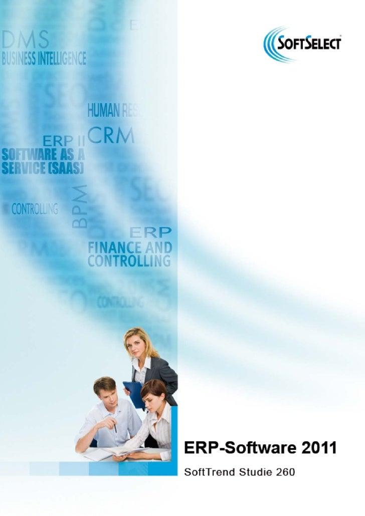 ERP Studie 2011 Vorschau