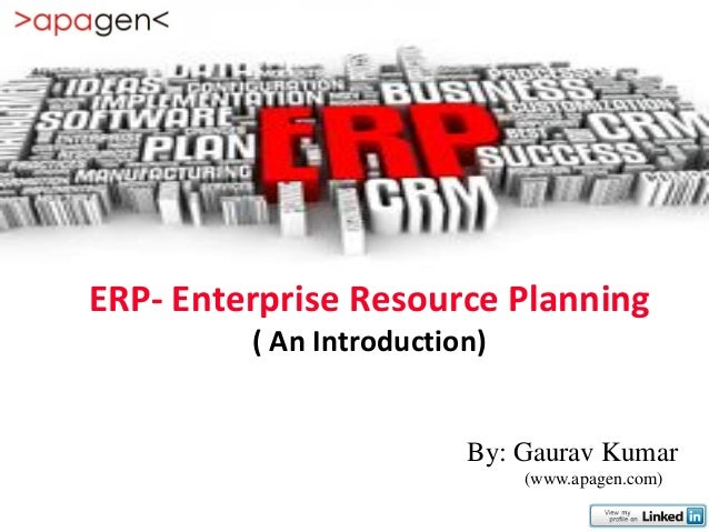 Erp study (Understand and select ERP)