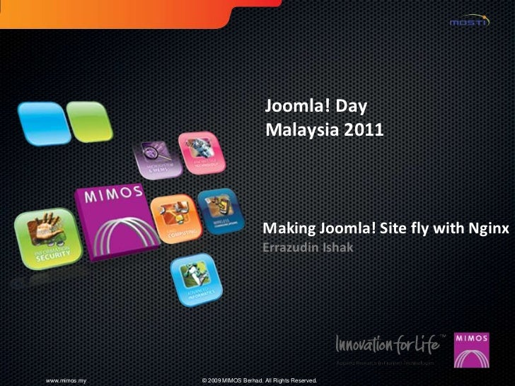 Joomla! Day                                     Malaysia 2011                                    Making Joomla! Site fly w...