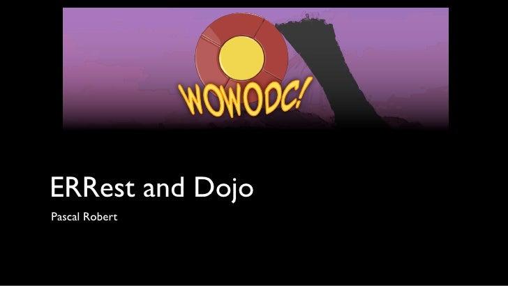 ERRest and Dojo