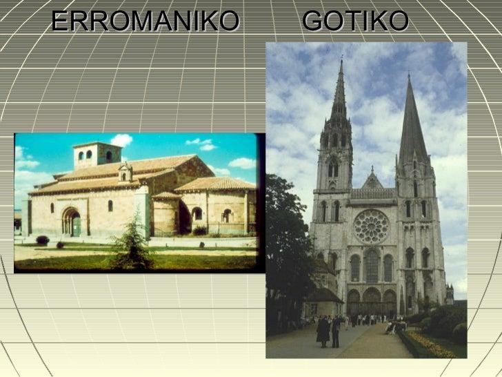 ERROMANIKO   GOTIKO