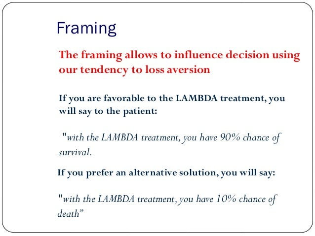 Framing decisions essay Essay Service