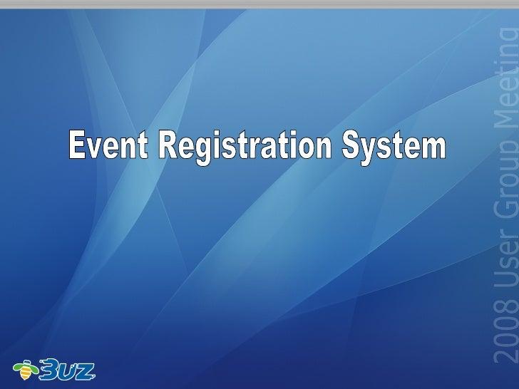 Event Registration System