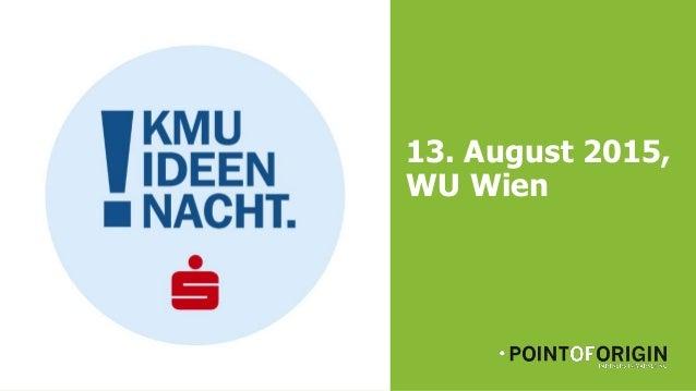 13. August 2015, WU Wien