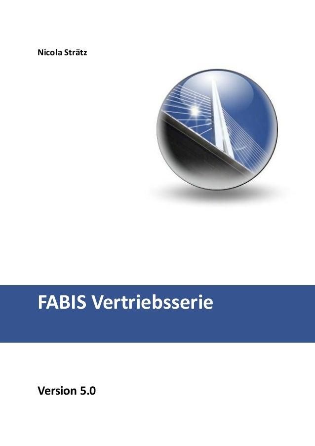 Erste Schritte im FABIS Provisionsabrechnungssystem