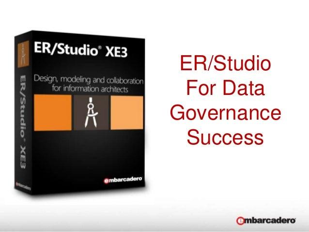 ER/StudioFor DataGovernanceSuccess