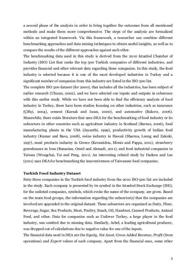 data envelopment analysis thesis