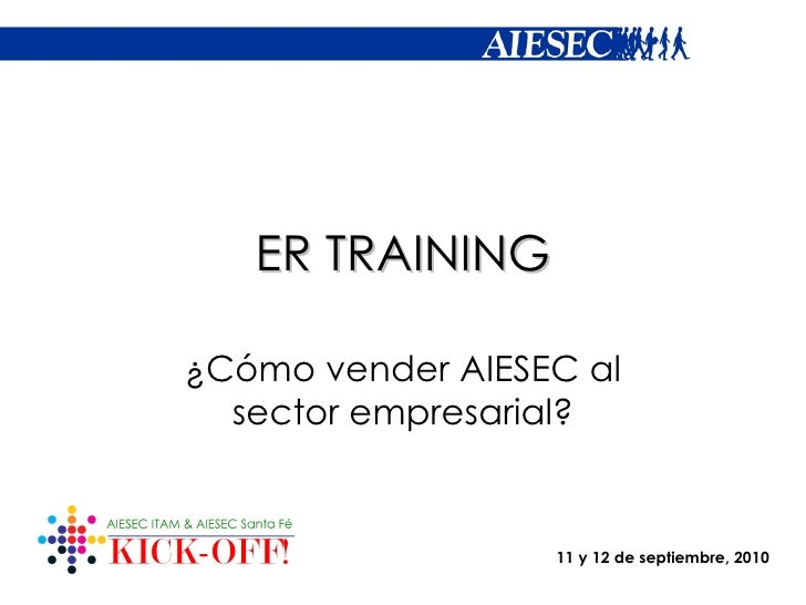 Er training smi 2010