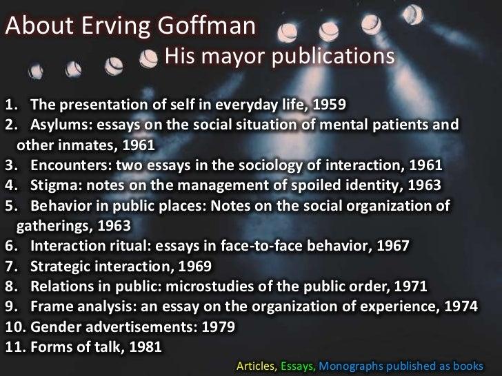 goffman s gender advertisement analysis