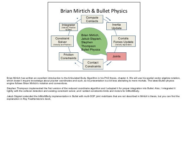 Brian mirtich phd thesis