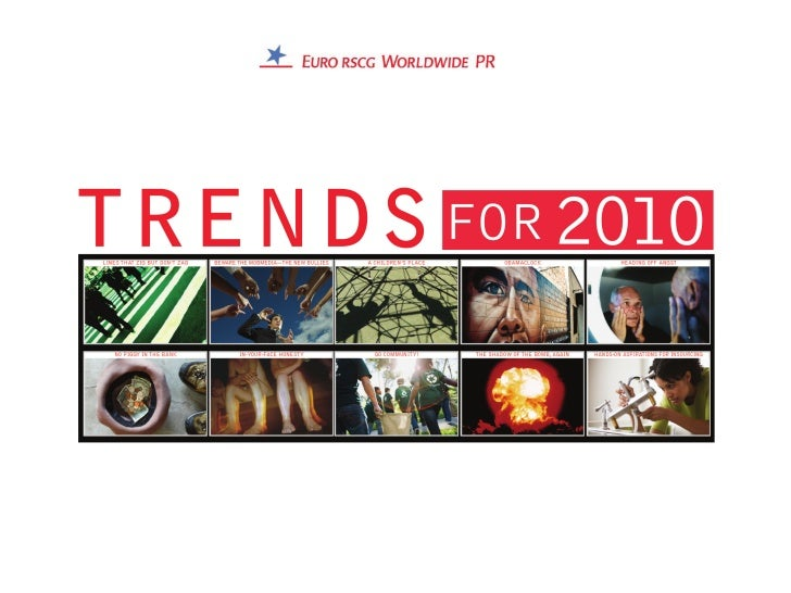 Trends for 2010