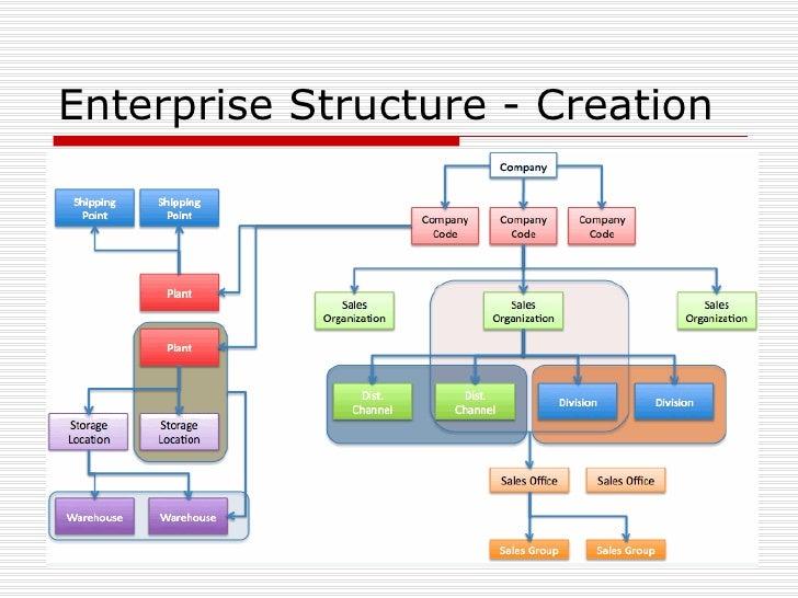 Sap Enterprise Structure Example