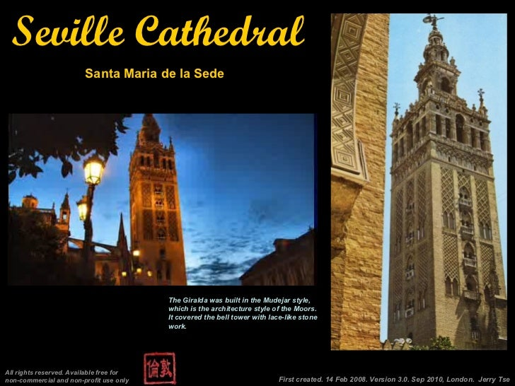 Seville Cathedral, Sevilla, Spain