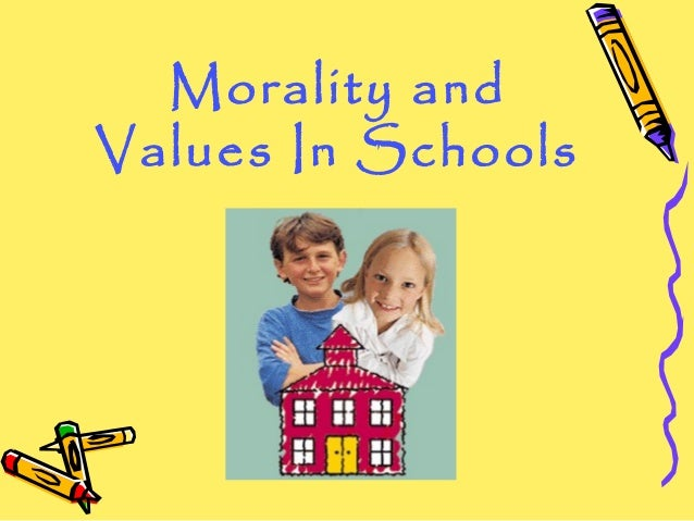 5 thoughts on moral values