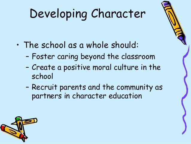 school climate and moral and social development - National