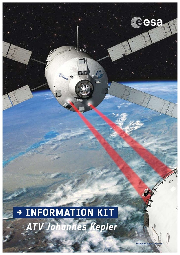 → INFORMATION KIT ATV Johannes Kepler                       European Space Agency