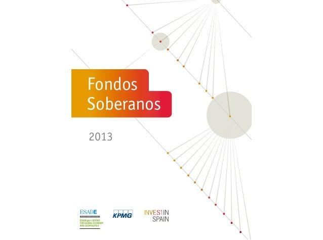 INFORME: Fondos Soberanos 2013 (ESADEgeo)
