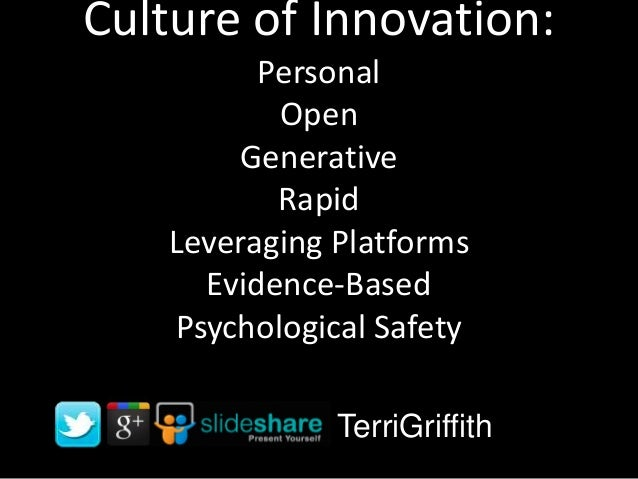 Culture of Innovation for ESADE