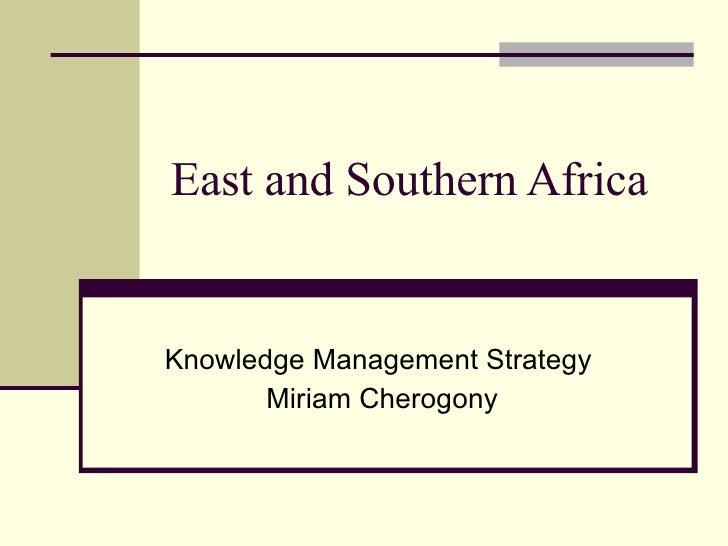 Esa Km Networks Presentation Final