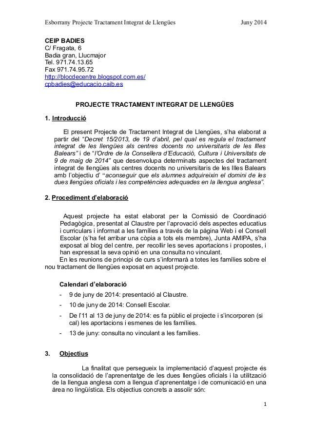 Esborrany projecte TIL 2014-15