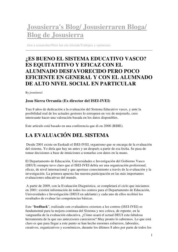 Josusierra's Blog/ Josusierraren Bloga/  Blog de Josusierra  Just a researcher/Nire lan eta iritziak/Trabajos y opiniones ...