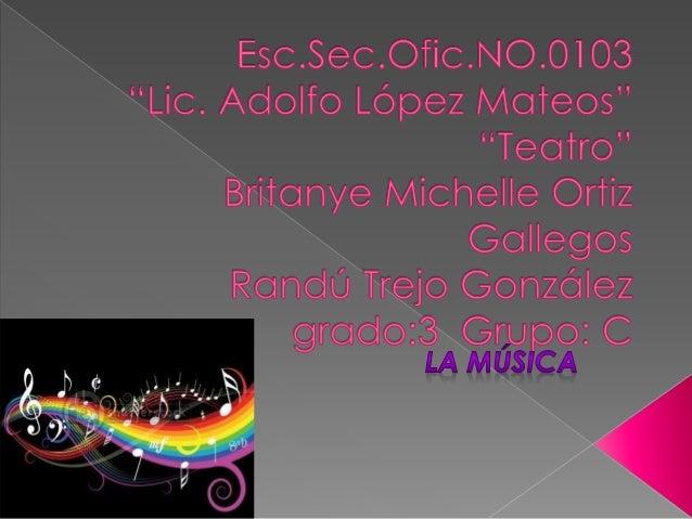 Es un trabajo que nos pidió el profesor de la secundaria Lic. Adolfo López Mateos donde tenemos que poner donde se origino...