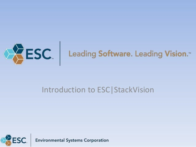 Introduction to ESC|StackVision