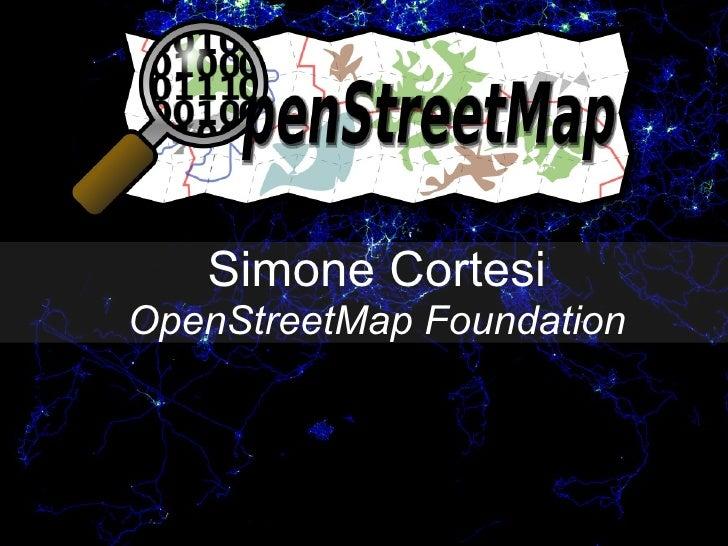OpenStreetMap - ESC 2009