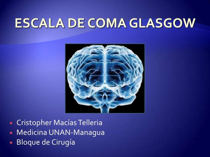 Escala de glasgow cjmt