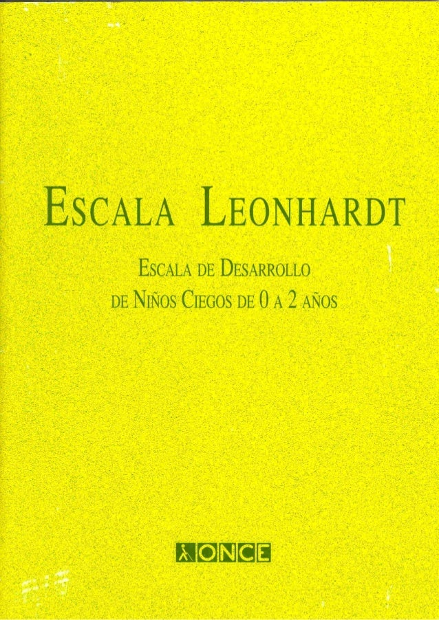 Escala leonhardt once_92