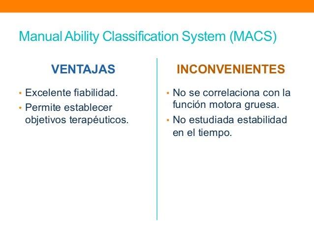 macs manual ability classification system