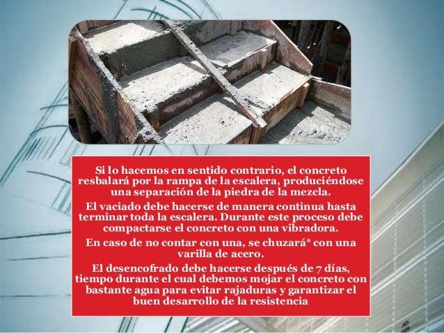Escaleras proceso constructivo for Armar escalera metalica