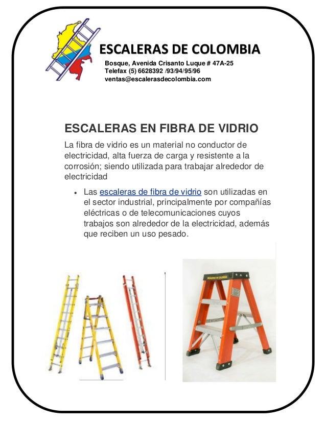 Escaleras en fibra de vidrio 2 - Escalera de fibra de vidrio ...