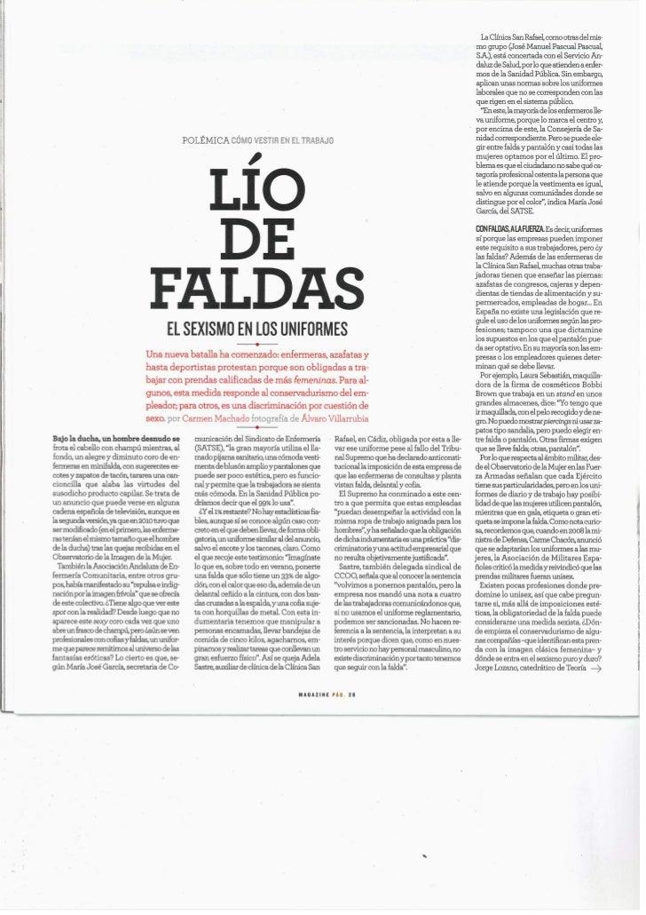 Magazine El Mundo Nº 628 | Domingo 9 de Octubre de 2011| Ángel Román